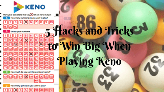 keno machine tricks