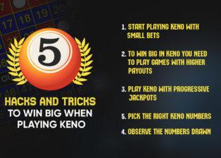 5 Hacks and Tricks to Win Big When Playing Keno
