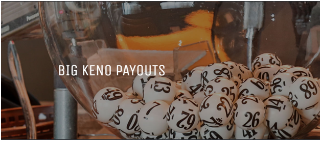 Big keno payouts