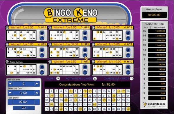 Bingo Keno Extreme