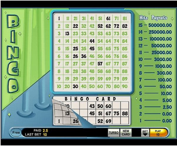 Bingo Keno from IGT