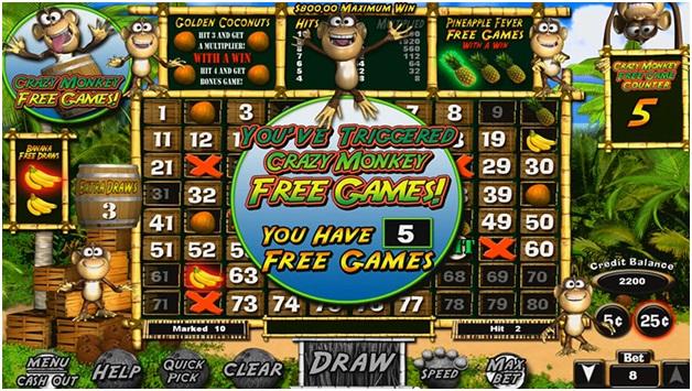 Coconut Keno- Free Game