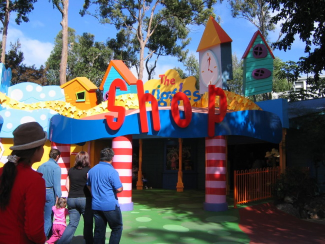 Dreamworld and Wiggles World