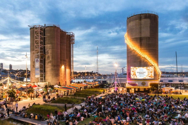 Enjoy a free movie in the park