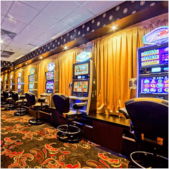Isa Hotel Gaming Room