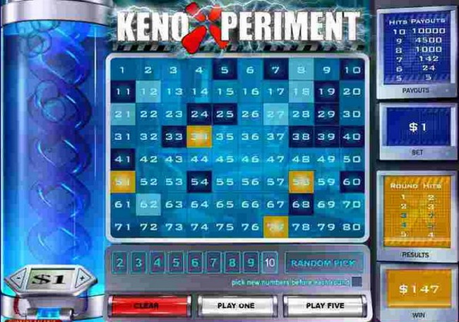 Guidelines to play Keno Xperiment