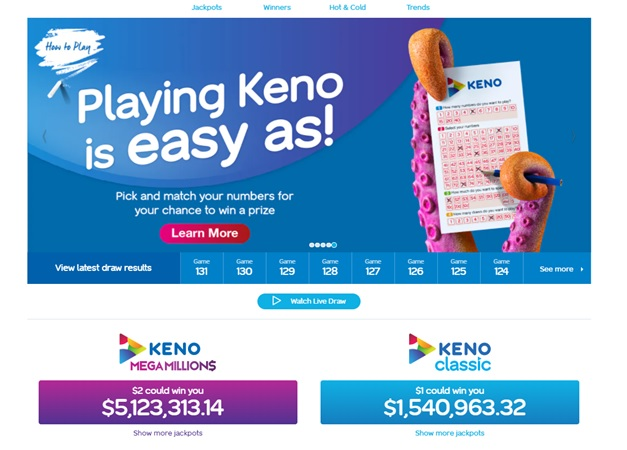 How to play Keno in Queensland