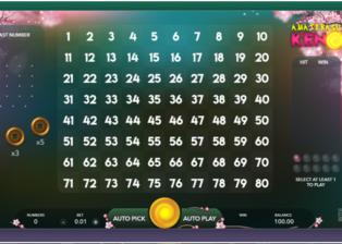How to play new Amaterasu Keno