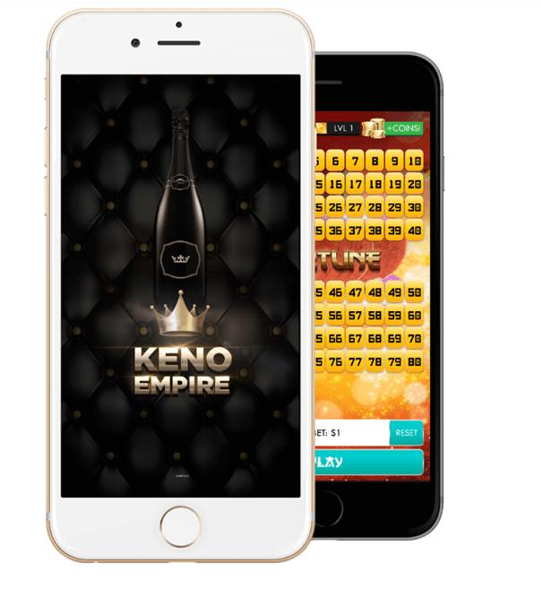 Keno Empire App