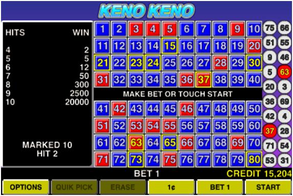 Keno Keno app
