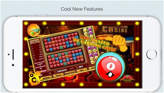Keno fantastic app- Feature