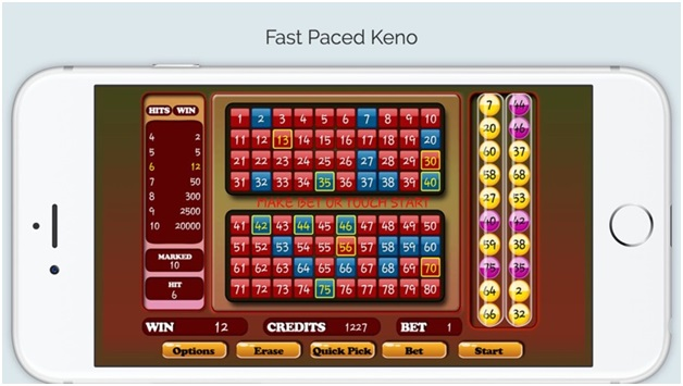keno online betting australia post
