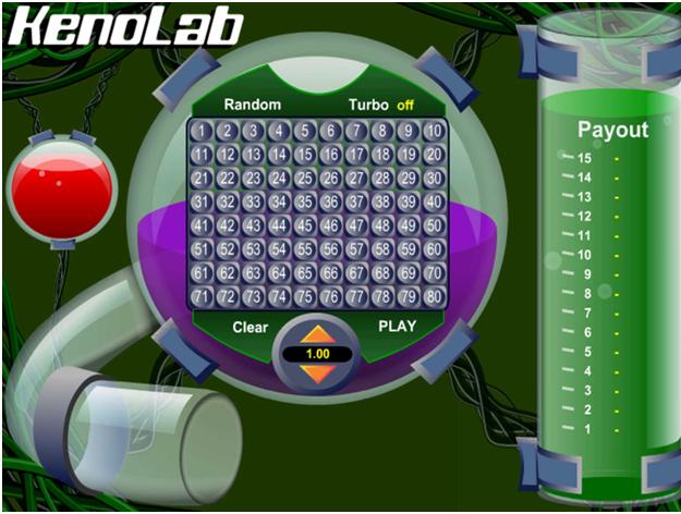 Keno free games to play- Keno Lab
