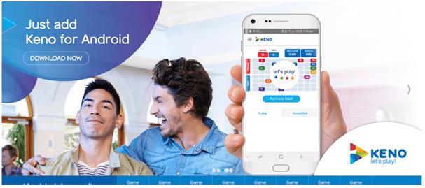 Keno app Features