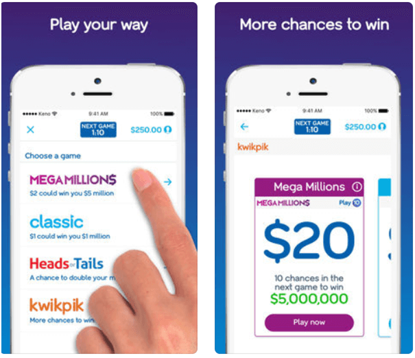 Keno lets play online app- Games you can play online