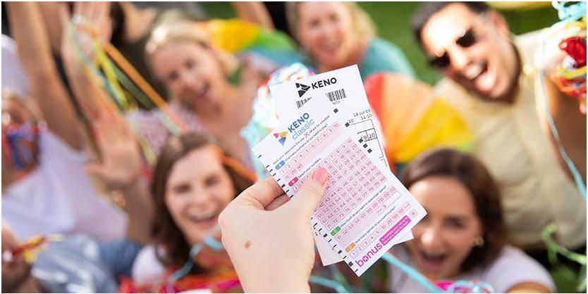 Keno lottery tickets