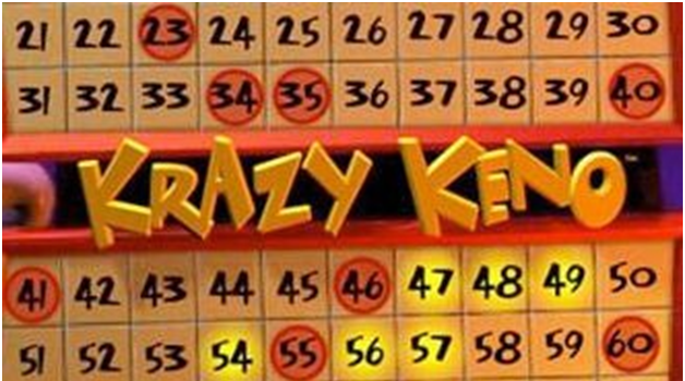 Krazy Keno game online