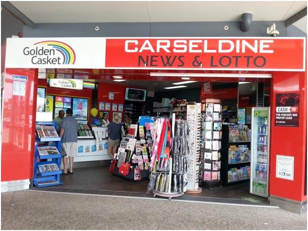 Lotto store in Queensland