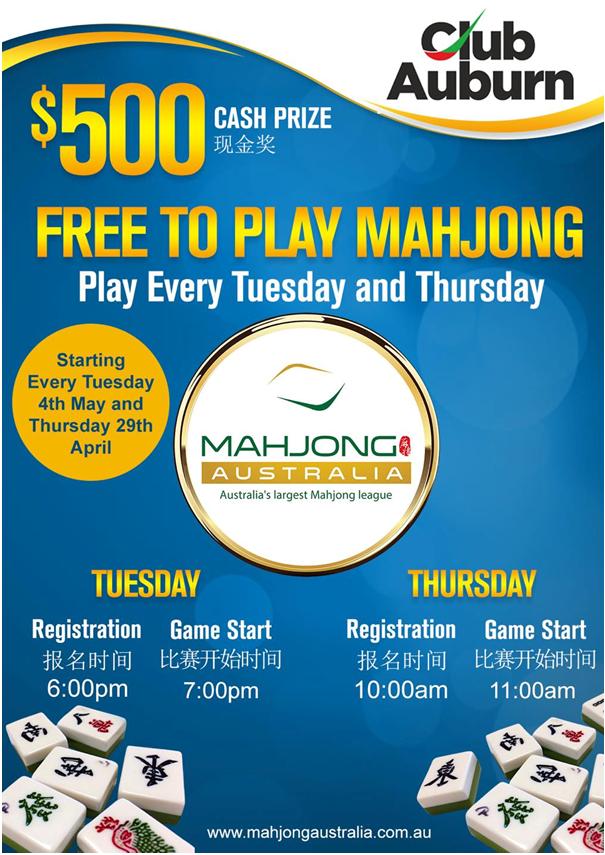Mahjong at RSL