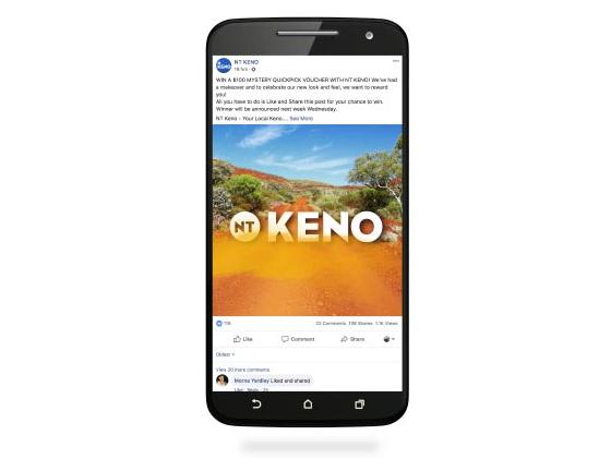 NT Keno mobile