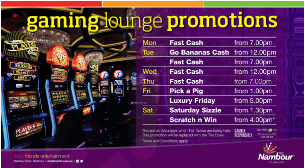 Nambour RSL Club Promotions to play Keno