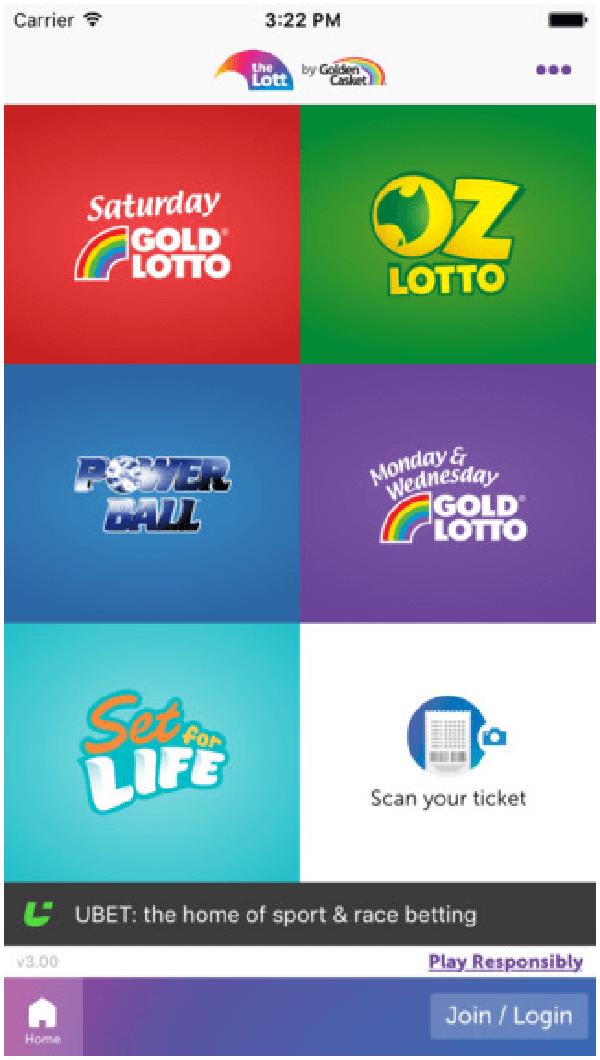 Oz Lotto App
