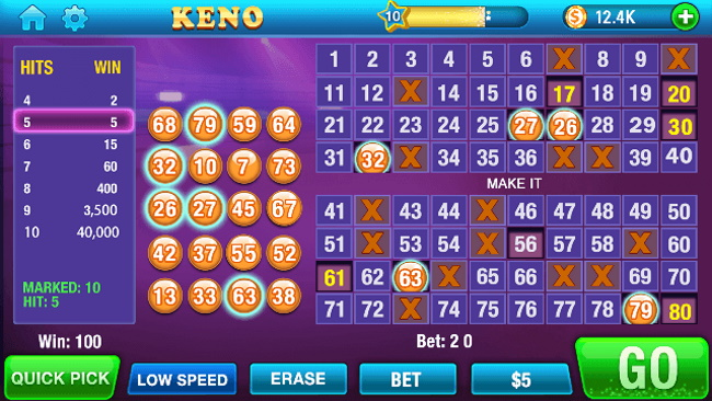 Best Numbers To Play On Superball Keno