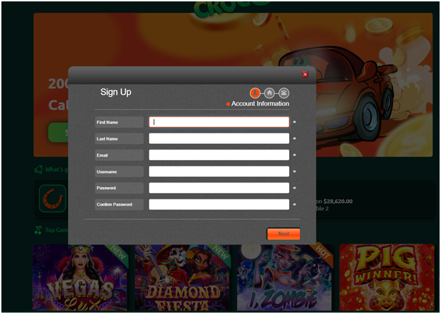 Getting started at Play Croco Online Casino