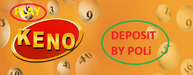 Play Keno Deposit by POLi
