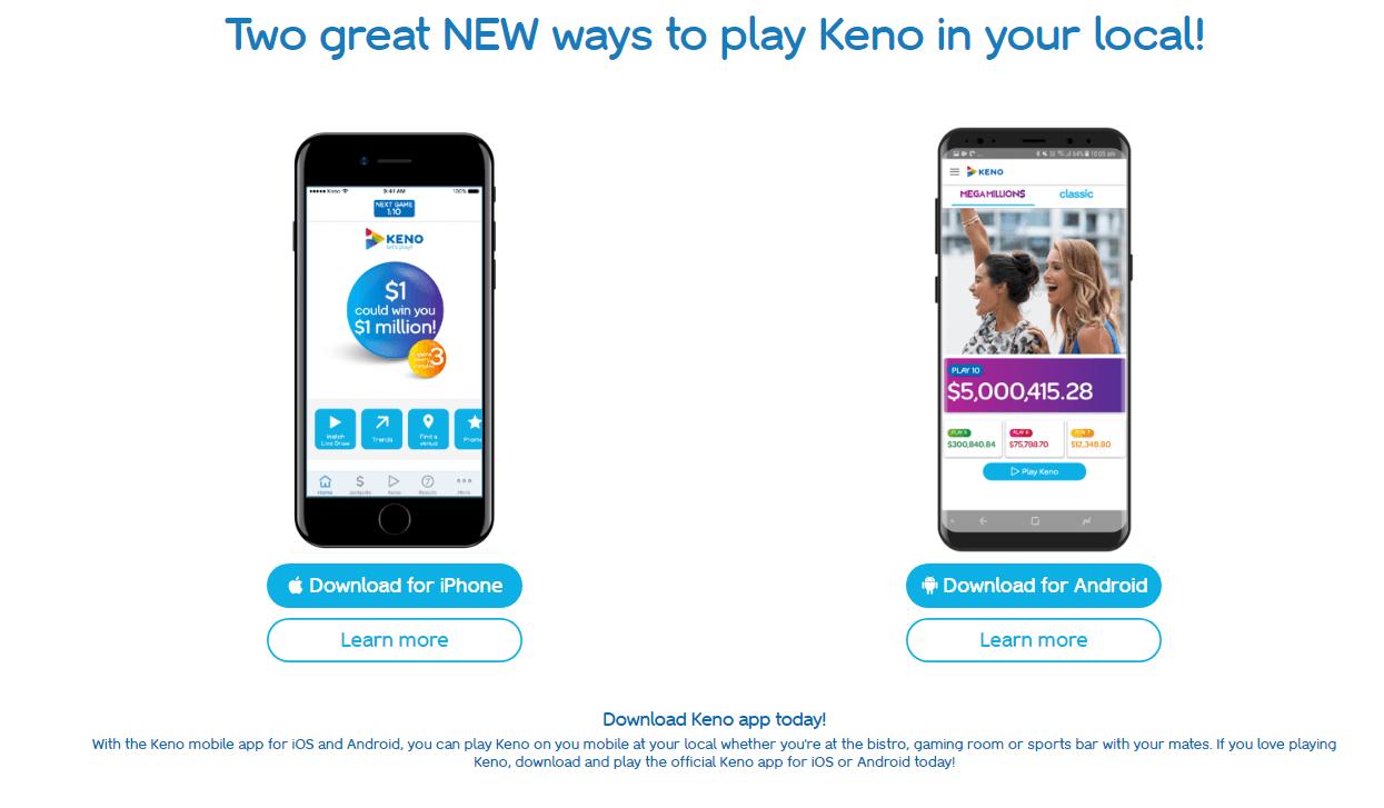 Play keno now