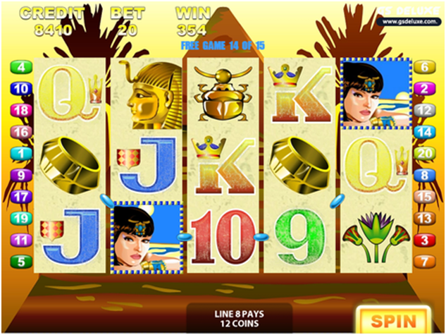 Queen of the Nile game