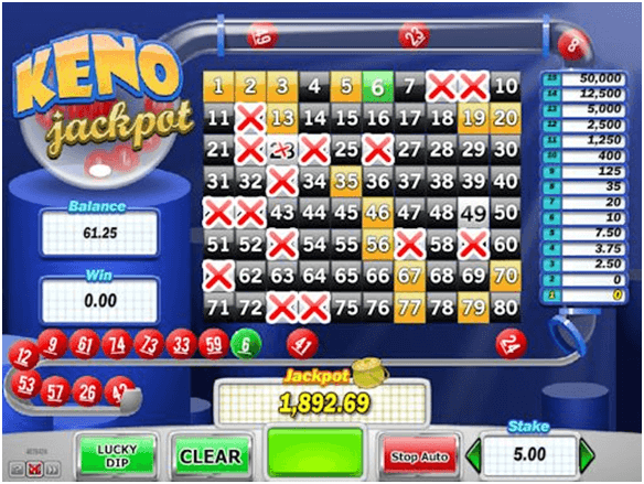 Free Keno Land Game and Real Money Casino Play