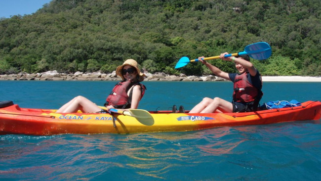 Sea Kayaking in Queensland