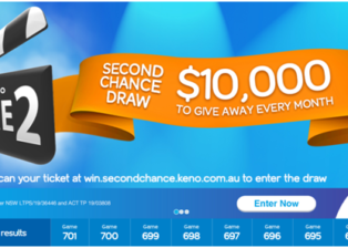 How to take part in second chance keno draw in Australia