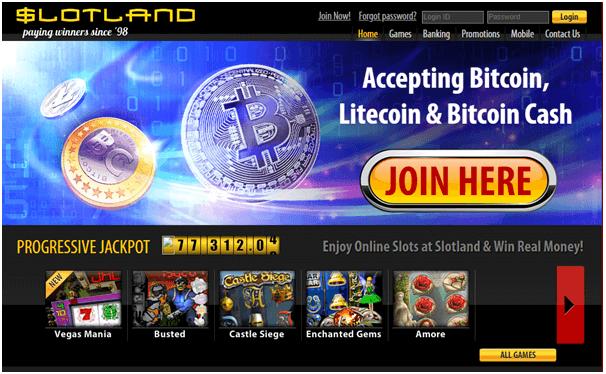 Slotland casino to play Keno 101