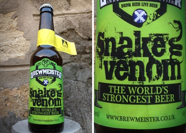 strongest beers