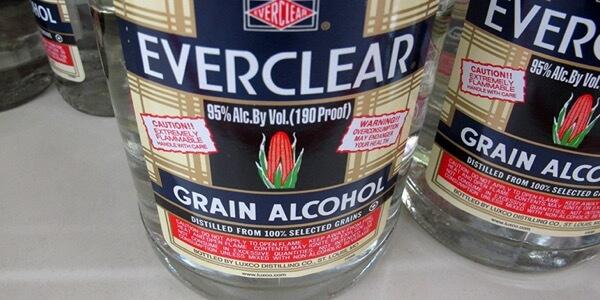 Strongest Liquors