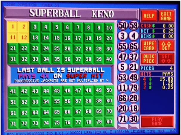 Super Ball Keno