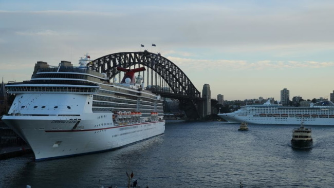 Sydney Harbour Ship