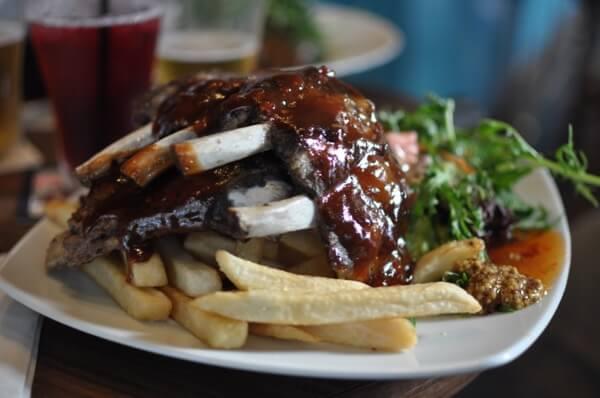 sydney's pub food