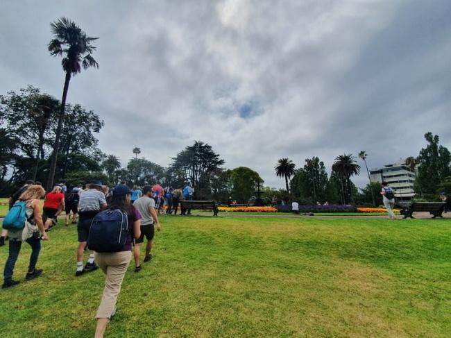Take a free walking tour