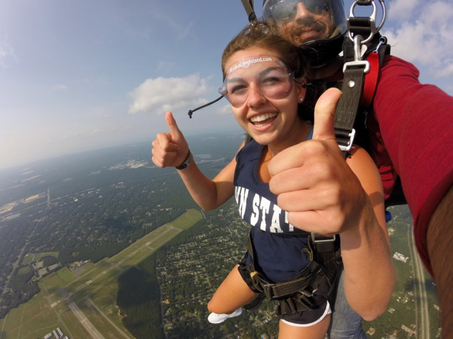 Things to remember in Skydiving