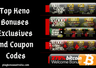 Top Keno Bonuses Exclusives and Coupon Codes