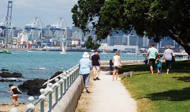 Visit Devonport from Auckland city