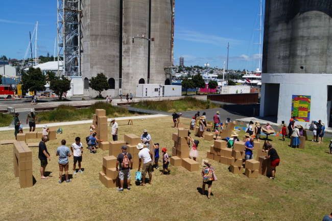 Walk to silo park anyway!