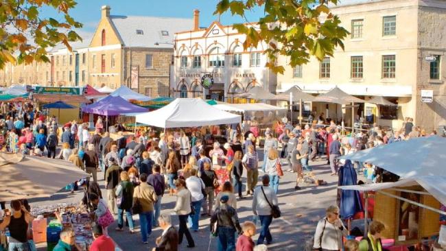 Walkthrough Salamanca Markets