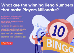 What are the winning Keno numbers that make players millionaire