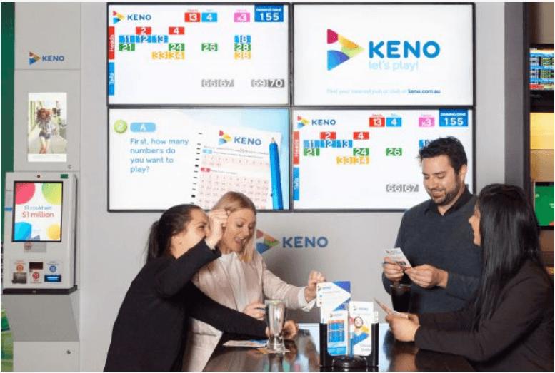 Where to play Keno