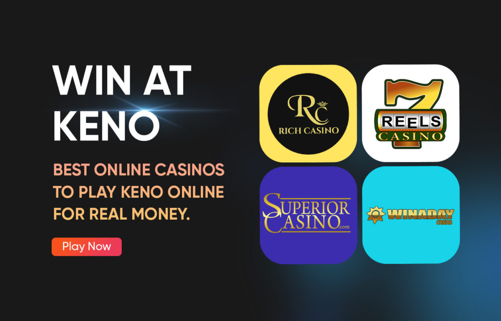 Win at Keno - Best Online Casinos to Play Keno Online