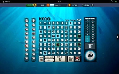 keno strategies lottery